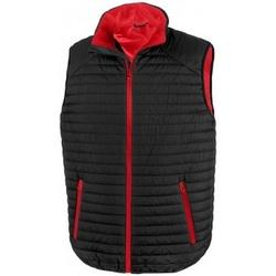 textil Chaquetas Result R239X Negro/Rojo