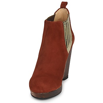 MySuelly LEON Rojizo / Dorado - Envío gratis |  - Zapatos Low boots Mujer 31600