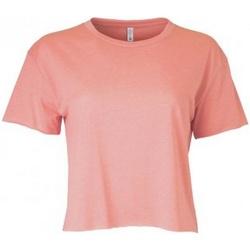 textil Mujer Camisetas manga corta Next Level NX5080 Rojo