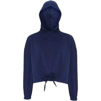 textil Mujer Sudaderas Tridri TR085 Azul