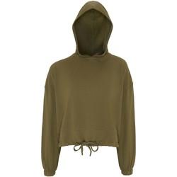 textil Mujer Sudaderas Tridri TR085 Verde