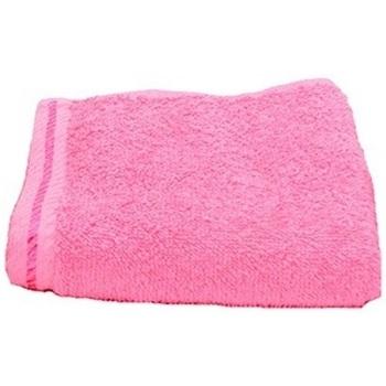 Casa Toalla y manopla de toalla A&r Towels Taille unique Rojo