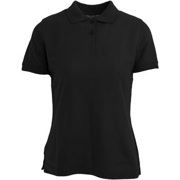 textil Mujer Polos manga corta Absolute Apparel  Negro
