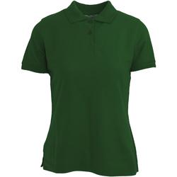 textil Mujer Polos manga corta Absolute Apparel  Verde botella