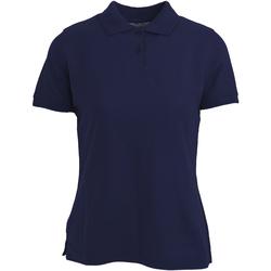 textil Mujer Polos manga corta Absolute Apparel  Azul marino