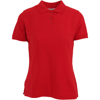 textil Mujer Polos manga corta Absolute Apparel  Rojo