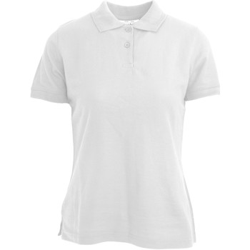 textil Mujer Polos manga corta Absolute Apparel  Blanco