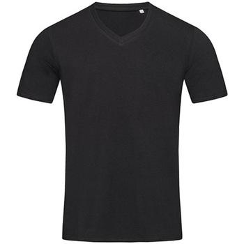 textil Hombre Camisetas manga corta Stedman Stars  Negro