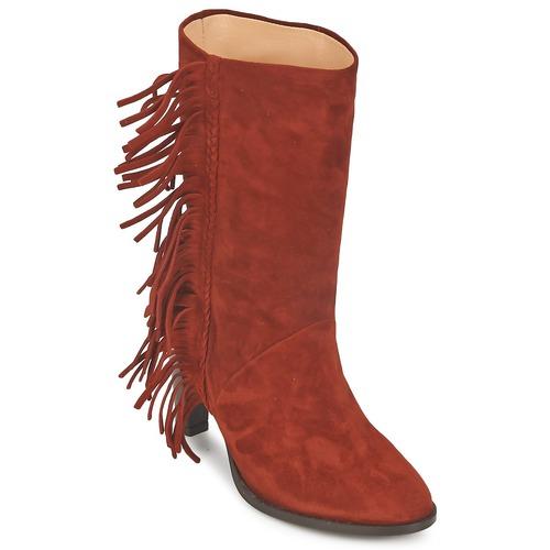 Zapatos Mujer Botas urbanas MySuelly GAD Rojizo