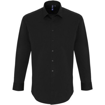 textil Hombre Camisas manga larga Premier PR244 Negro