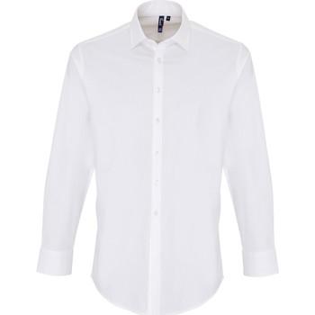 textil Hombre Camisas manga larga Premier PR244 Blanco