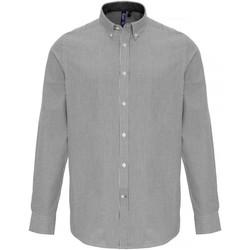 textil Hombre Camisas manga larga Premier PR238 Blanco