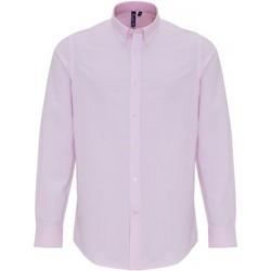 textil Hombre Camisas manga larga Premier PR238 Rojo