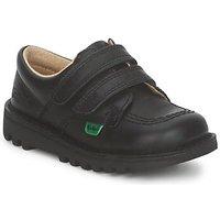 Zapatos Niños Zapatillas bajas Kickers KICK LO VELCRO Negro