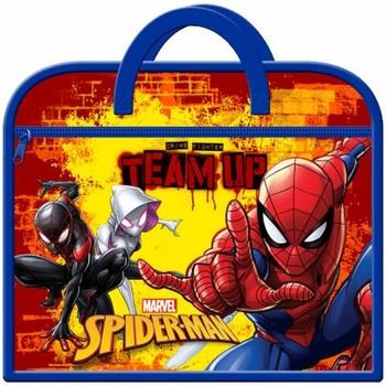 Bolsos Niños Cartable Spiderman  Rojo