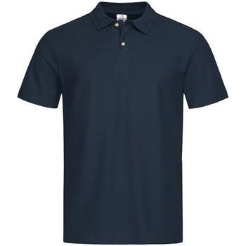 textil Hombre Polos manga corta Stedman  Azul Medianoche
