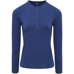 textil Mujer Tops / Blusas Premier PR318 Azul índigo