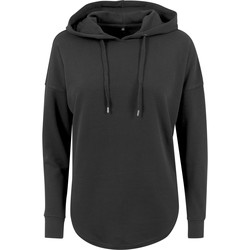 textil Mujer Sudaderas Build Your Brand BY037 Negro