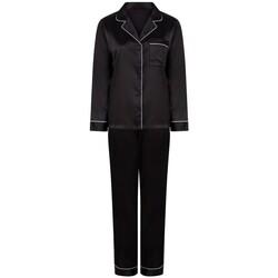 textil Mujer Pijama Towel City TC055 Negro