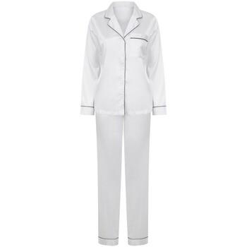 textil Mujer Pijama Towel City TC055 Blanco