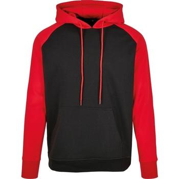 textil Hombre Sudaderas Build Your Brand BB005 Negro