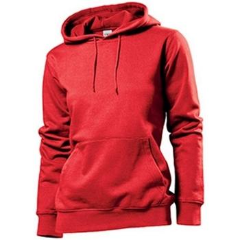 textil Mujer Sudaderas Stedman  Rojo Escarlata