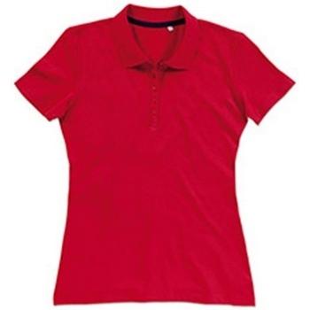 textil Mujer Tops y Camisetas Stedman Stars  Rojo pasión