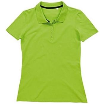 textil Mujer Tops y Camisetas Stedman Stars  Verde Flash
