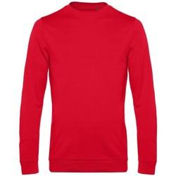textil Hombre Sudaderas B&c WU01W Rojo
