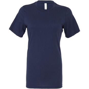 textil Mujer Tops y Camisetas Bella + Canvas BE6400 Marino