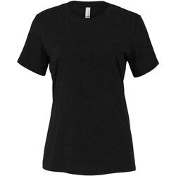 textil Mujer Tops y Camisetas Bella + Canvas BE6400 Negro