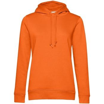 textil Mujer Sudaderas B&c WW34B Naranja