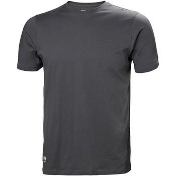 textil Hombre Tops y Camisetas Helly Hansen 79161 Gris