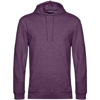 textil Hombre Sudaderas B&c WU03W Violeta