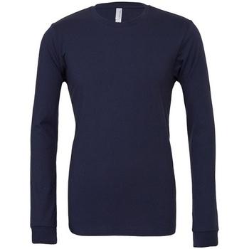textil Camisetas manga larga Bella + Canvas CA3501 Azul