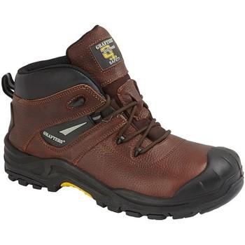 Zapatos Hombre Botas Grafters  Marrón