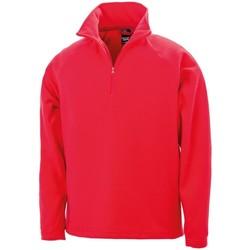 textil Sudaderas Result RS112 Rojo