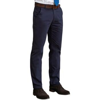 textil Hombre Pantalones Brook Taverner BR160 Marino