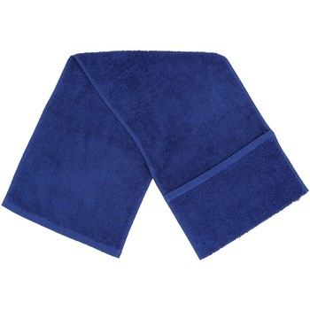 Casa Toalla y manopla de toalla Towel City Taille unique Azul Real