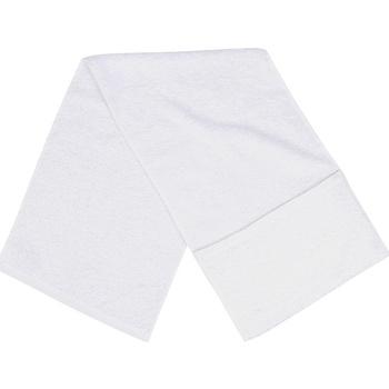 Casa Toalla y manopla de toalla Towel City Taille unique Blanco