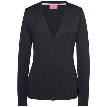 textil Mujer Chaquetas de punto Brook Taverner BK554 Negro
