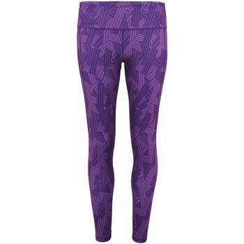textil Mujer Leggings Tridri TR035 Púrpura