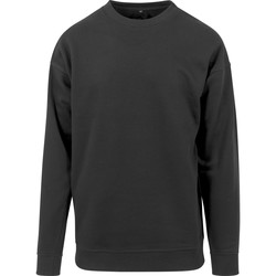 textil Hombre Sudaderas Build Your Brand BY075 Negro