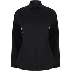 textil Mujer Camisas Henbury HB533 Negro