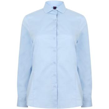 textil Mujer Camisas Henbury HB533 Azul