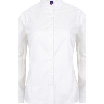 textil Mujer Camisas Henbury HB533 Blanco