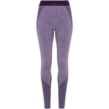 textil Mujer Leggings Tridri TR212 Púrpura