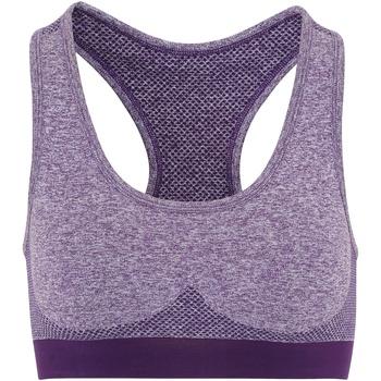 textil Mujer Sujetador deportivo  Tridri TR210 Violeta