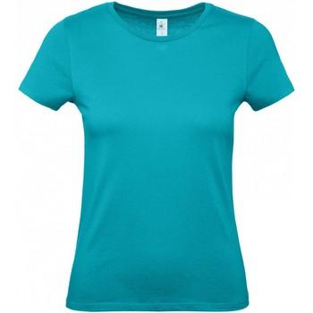 textil Mujer Camisetas manga corta B And C B210F Azul