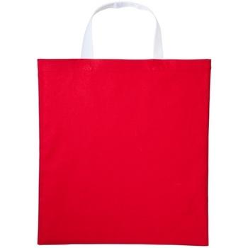 Bolsos Bolso shopping Nutshell RL130 Rojo/Blanco
